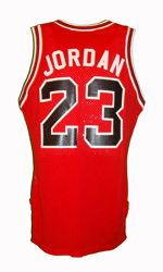Maillot/Jersey (back10) Michael Jordan 1986/89 Authentic Bulls Home