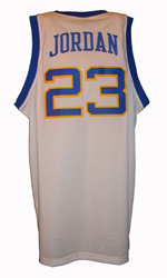 Maillot/Jersey (back2) Michael Jordan 1980 Laney Throwback Home