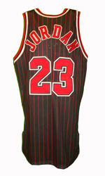 Maillot/Jersey (back22) Michael Jordan 1996/97 Procut Bulls Alternate Black