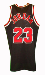 Maillot/Jersey (back25) Michael Jordan 1997/98 Procut Bulls Alternate Black