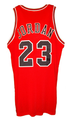 Maillot/Jersey (back27) Michael Jordan 1997/98 Procut Game Issued Bulls Away NBA Finals