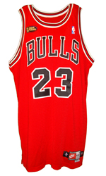 Maillot/Jersey (front27) Michael Jordan 1997/98 Procut Game Issued Bulls Away NBA Finals