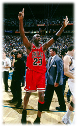 Maillot/Jersey (real27) Michael Jordan 1997/98 Procut Game Issued Bulls Away NBA Finals