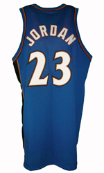 Maillot/Jersey (back28) Michael Jordan 2001/02 Procut Wizards Away