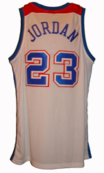 Maillot/Jersey (back31) Michael Jordan 2002/03 Authentic Wizards Retro Bullets