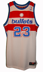 Maillot/Jersey (front31) Michael Jordan 2002/03 Authentic Wizards Retro Bullets