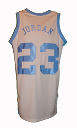Maillot/Jersey (back5) Michael Jordan 1981/82 Procut North Carolina Home