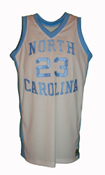 Maillot/Jersey (front5) Michael Jordan 1981/82 Procut North Carolina Home