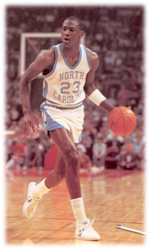 Maillot/Jersey (real5) Michael Jordan 1981/82 Procut North Carolina Home