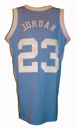 Maillot/Jersey (back6) Michael Jordan 1981/82 Procut North Carolina Away