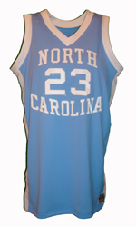 Maillot/Jersey (front6) Michael Jordan 1981/82 Procut North Carolina Away