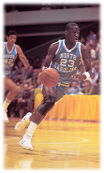 Maillot/Jersey (real6) Michael Jordan 1981/82 Procut North Carolina Away