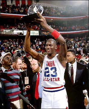 michael-jordan- - MVP All star game