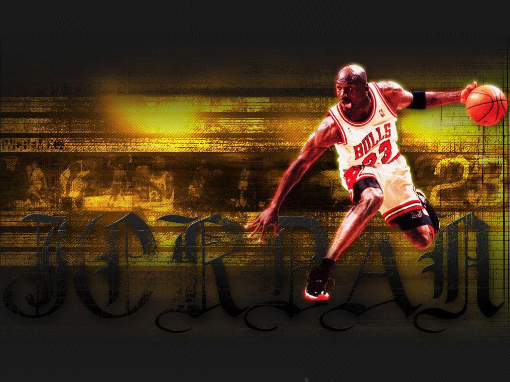 Fonds d'écran 1024x768 - Histoire de Michael Jordan